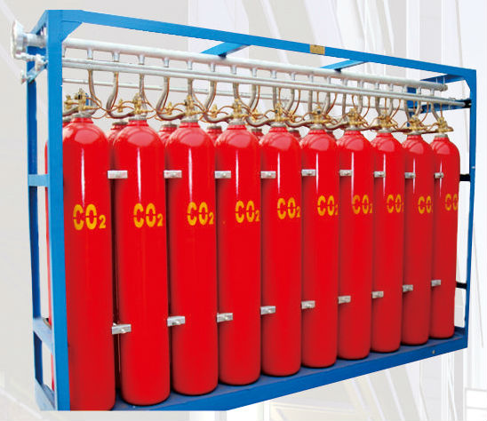 CO2 gas cylinders