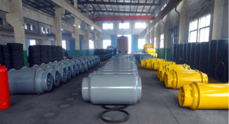 dot-3aa seamless steel gas cylinder