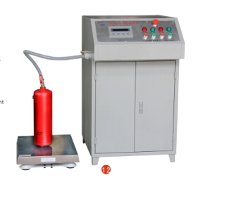 water type extinguisher filling machine